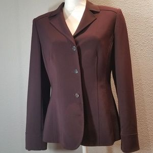 😍30% Off if bundle 3😍 Tahari Plum Blazer